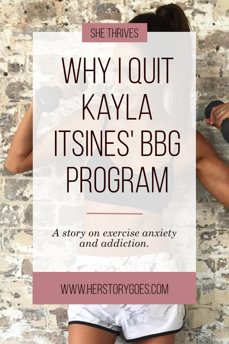 Why I Cancelled My Subscription to Kayla Itsines' Fitness App — Her Story Goes.